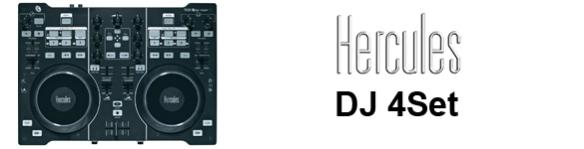 Hercules DJ 4Set