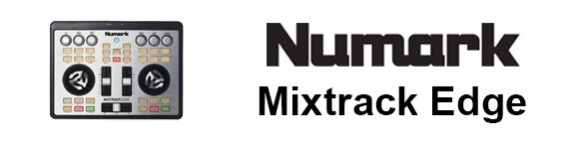 DJ ProMixer Numark Mixtrack Edge