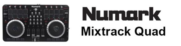 DJ ProMixer Numark Mixtrack Quad