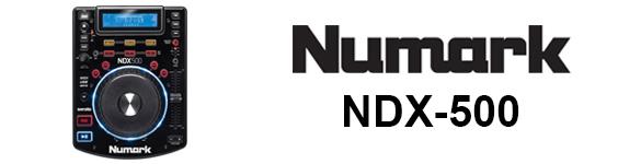 DJ ProMixer Numark NDX-500