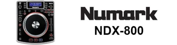 Numark NDX-800