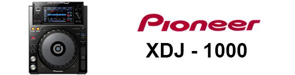 DJ ProMixer Pioneer XDJ-1000