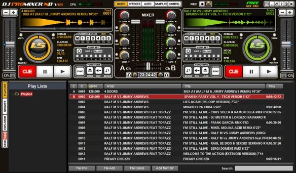 DJ ProMixer V 15 NB