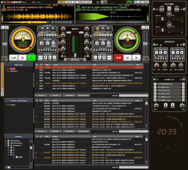 DJ ProMixer V1.5