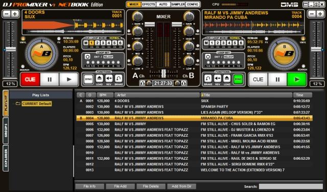 DJ ProMixer V1.0 NB
