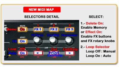 DJ ProMixer Numark Mixtrack Selectors Detail