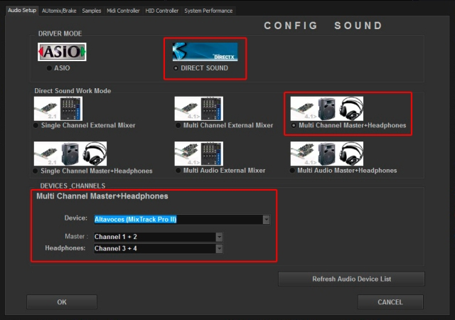 DJ ProMixer Audio Mixtrack Pro II