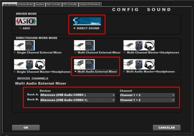 DJ ProMixer MIDI CD Audio