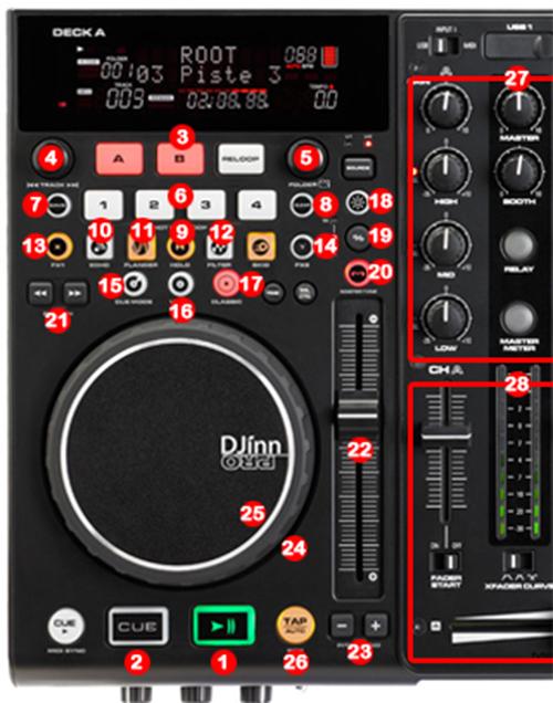 DJ ProMixer Audiophony DJinn Pro  map detail