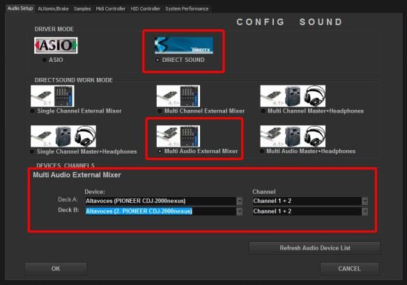 DJ ProMixer CDJ Direct Sound