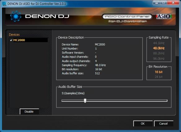 DJ ProMixer MC 2000 Denon Asio Driver