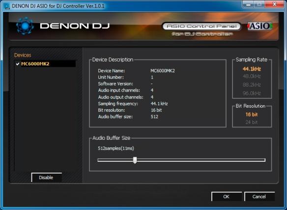 DJ ProMixer Driver ASIO Denon DJ