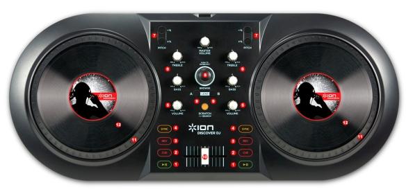 DJ ProMixer Ion Discover DJ map
