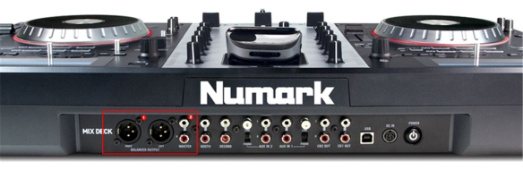 DJ ProMixer Numark Mixdeck front