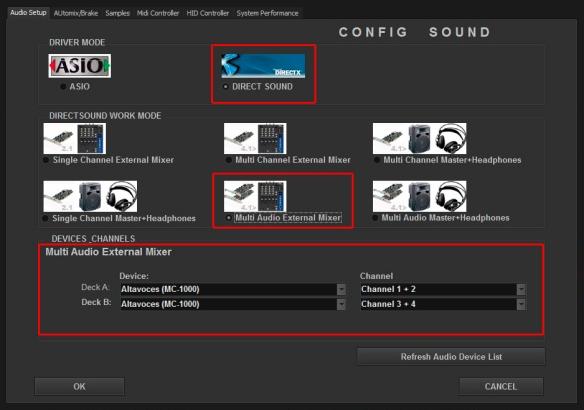 DJ ProMixer Audio Zomo MC - 1000