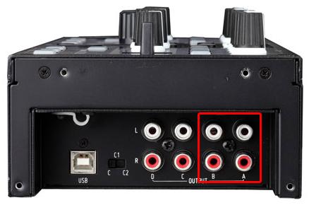 DJ ProMixer Zomo Audio Output