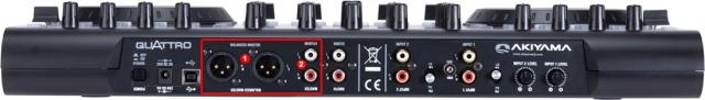 DJ ProMixer Akiyama Quattro Audio Connections_1