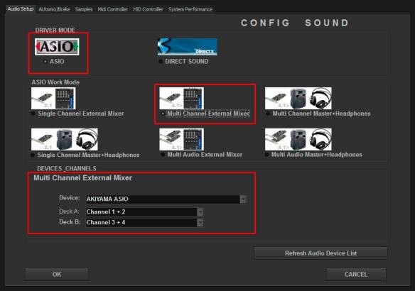 DJ ProMixer Audio External Akiyama Quark SC