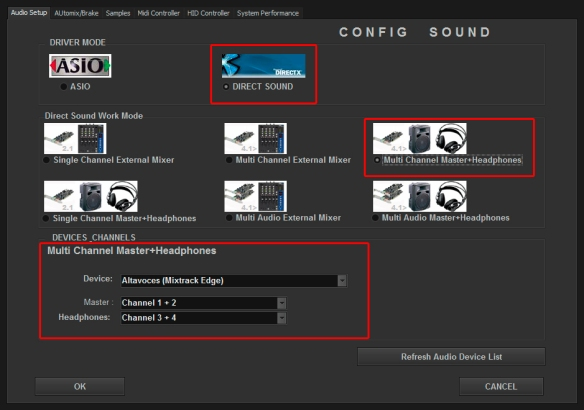 DJ ProMixer Audio Mixtrack Edge