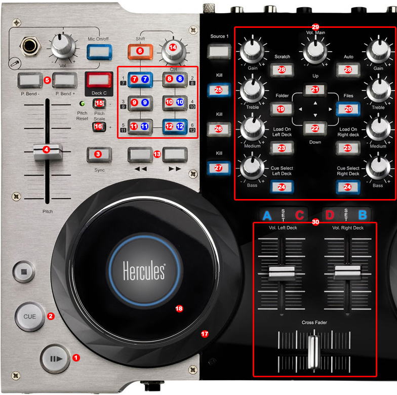 Hercules DJ Console 4-Mx Sound Drivers for Windows Mac