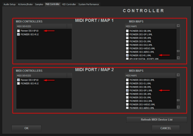 DJ ProMixer MIDI Pioneer DDJ-SP1_3