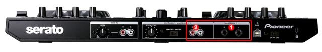 DJ ProMixer Pioneer DDJ-SR Audio Connection