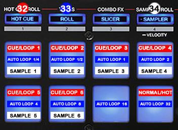 DJ Promixer Pioneer DDJ-SR_PAD Mode Detail