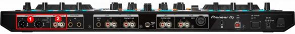 DJ ProMixer Pioneer DDJ-RX audio detail