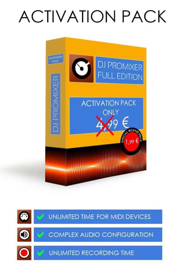 DJ ProMixer Activation Box