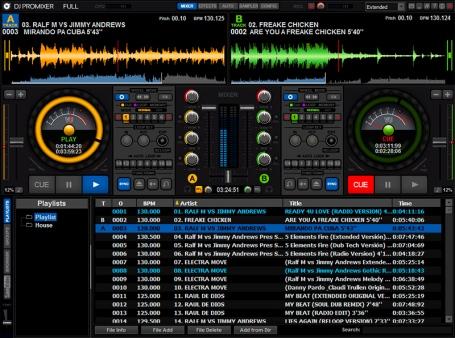 DJ ProMixer Skin 800