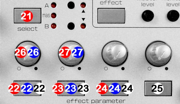 DJ ProMixer FX CUE Vestax VCI 100 Detail