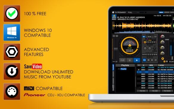 DJ ProMixer Features