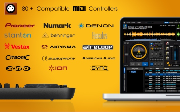 DJ ProMixer 80 Compatible MIDI Controllers